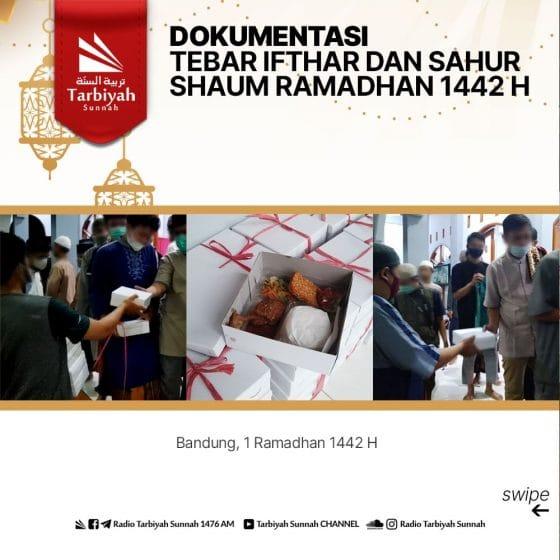 Dokumentasi Tebar Ifthar dan Sahur Shaum Ramadhan 1442 H