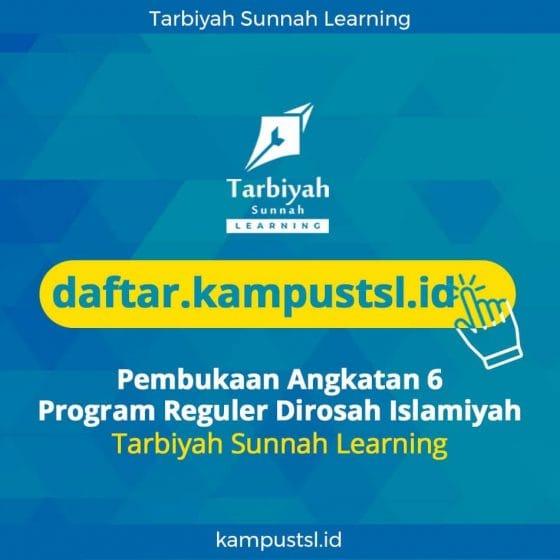PEMBUKAAN ANGKATAN 6 PROGRAM REGULER DIROSAH ISLAMIYAH